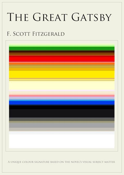 Infographics The Colors Mentioned Most In 10 Famous Books