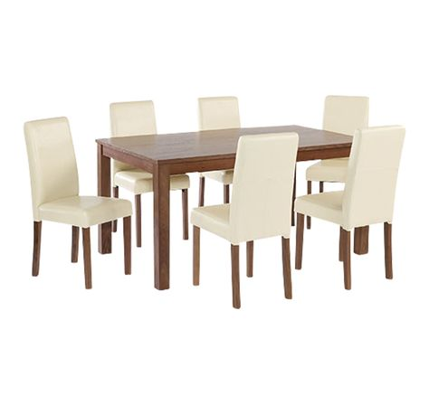 Dining Table Sets Furniture, Cream Coloured Dining Table And Chairs