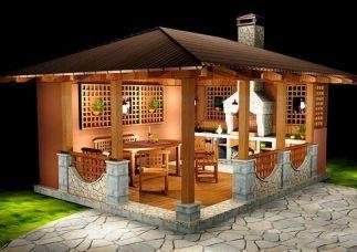 Awesome Gazebo Backyard Ideas Backyard Sitting Areas Small House Garden Backyard Patio
