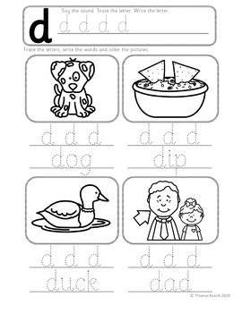 Phonics Worksheets Lesson Plan Flashcards Jolly Phonics Letter D Lesson Pack Jolly Phonics Phonics Phonics Lessons Kindergarten jolly phonics worksheets