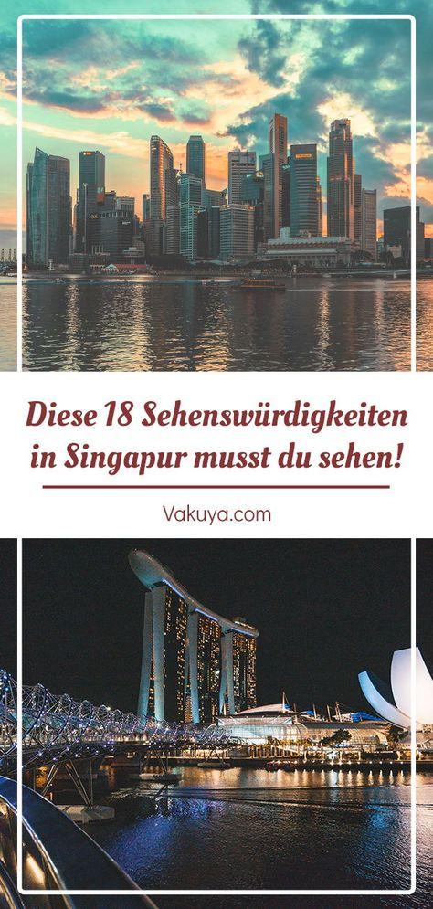 Singapur Sehenswürdigkeiten - unsere Highlights, Tipps & Erfahrungen