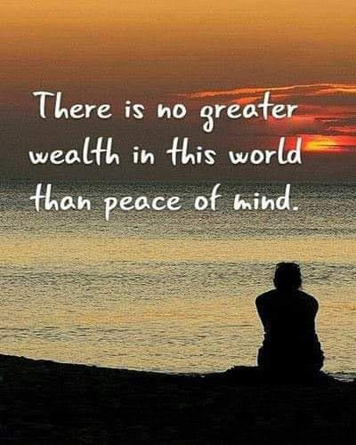 No Greater Wealth Than Peace Inspiring Quotes About Life Peace Of Mind Quotes Peace Quotes