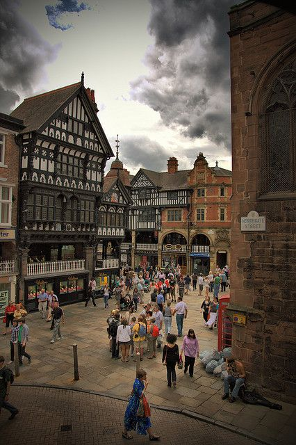 Northgate Street, Chester, England