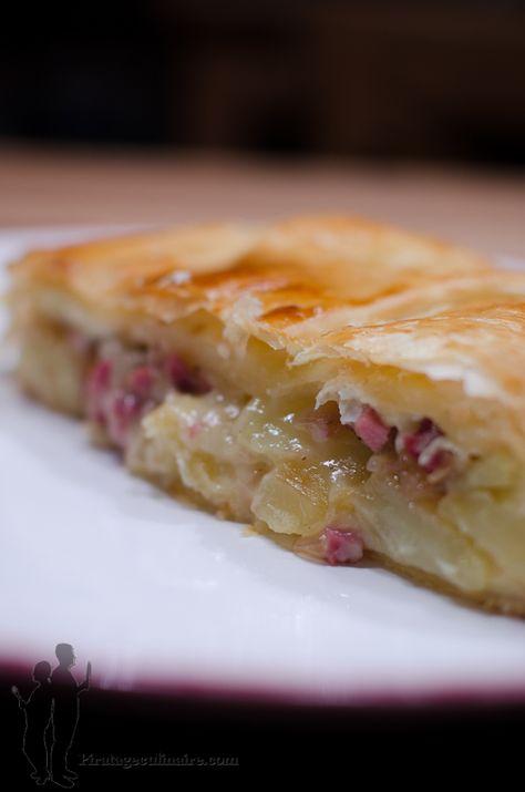 Feuilleté au camembert et aux lardons | Piratage Culinaire