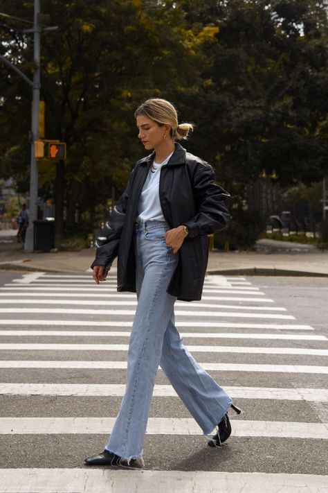 This Retro Pants Trend Is The Anti Skinny Jean