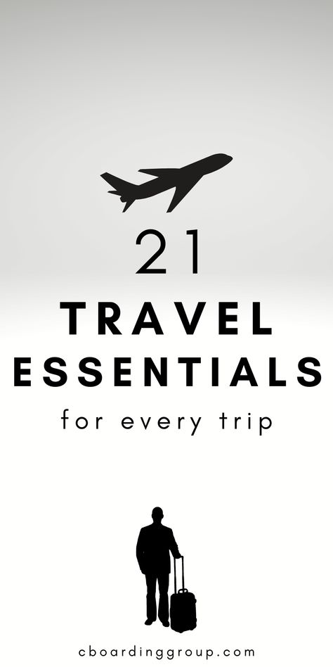 21 Travel Essentials for Every Trip: the must-have travel gear