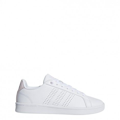 ADIDAS Advantage Clean QT sneakers Dames Wit » Intersport.nl