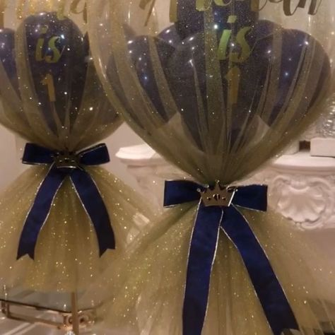 Prince Balloon Ideas,  #babyshowerpartydecorationsvideos #Balloon #ideas #Prince