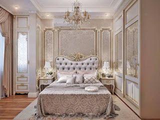 ديكور غرف نوم رئيسية 2019 فخامة واناقة غرفة نوم فخمة بيج Classic Bedroom Classic Bedroom Design Classic Bedroom Furniture