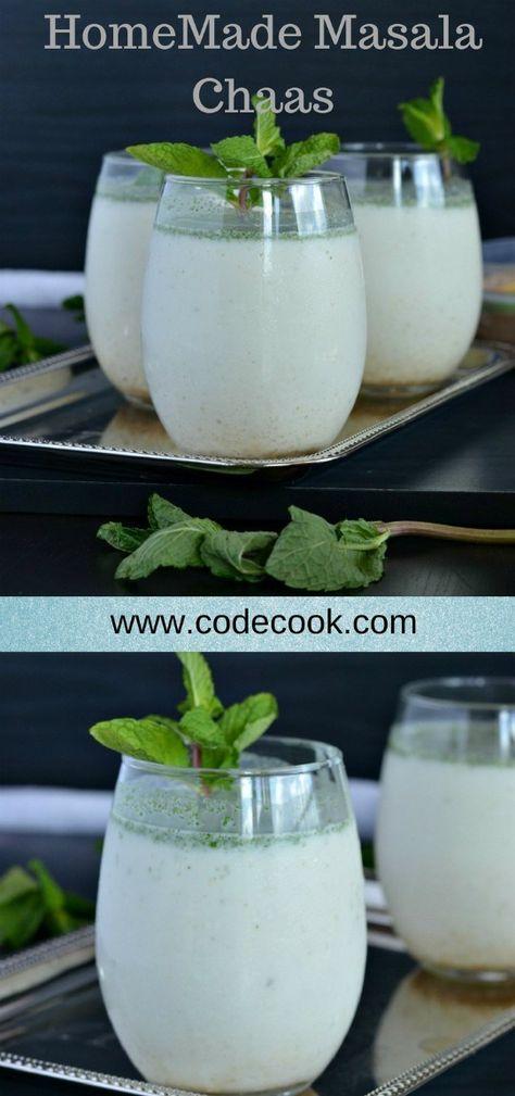 Masala Chaas Buttermilk Recipes Milk Recipes Easy Drink Recipes