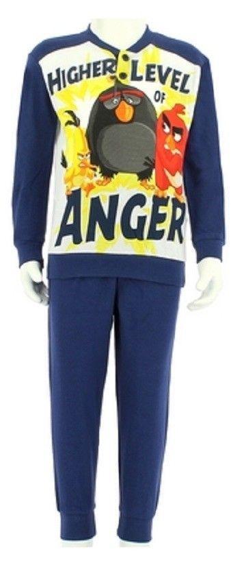 Angry Birds Pigiama a Maniche Lunghe per Ragazzi