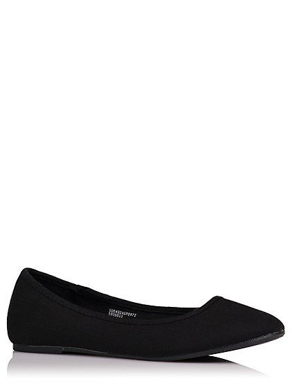 Canvas Ballet Shoes   Women   George at