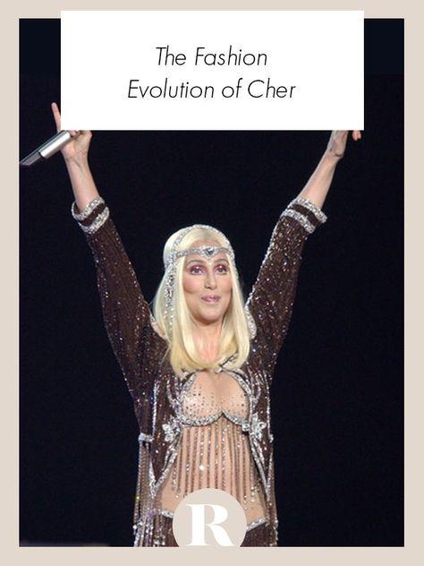 Nobody has had a fashion evolution quite like Cher.