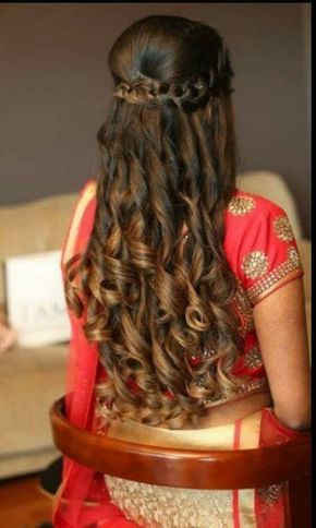 30 Latest Indian Bridal Wedding Hairstyles Images 2019 2020 Medium Hair Styles Long Hair Styles Medium Length Hair Styles