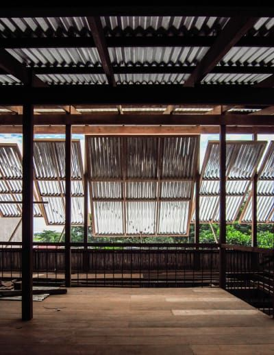 Nishizawaarchitects House In Chau Doc Divisare Architecture Movable Walls Building A House
