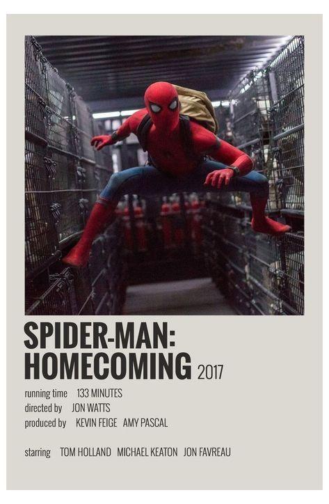 minimal movie posters spiderman
