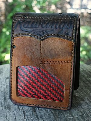 baseballmoms Custom Wallet Built From Old...