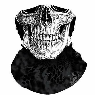 Skull Face Mask Bandana Motorcycle Face Mask For Men Women Snake Grey Face Ebay In 2020 Motorcycle Face Mask Skull Face Skull Face Mask