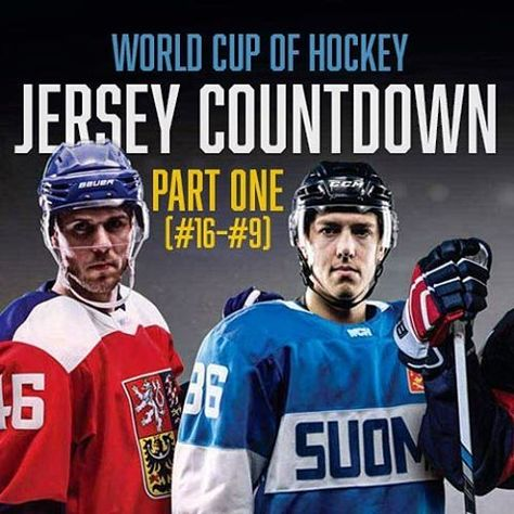 Hockeybydesignnew Hbyd World Cup Of Hockey Jersey Countdown Part 1 The First Half Of The Countdown Tackles The Hockey Jersey Hockey World Cup Hockey