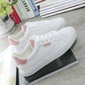 Diskon Sepatu Wanita Kets Sneaker Beier Pink Sepatu Wanita