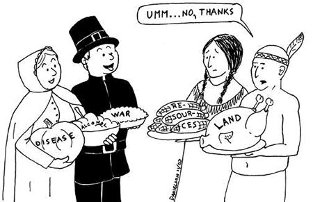 Image result for native american thanksgiving cartoons