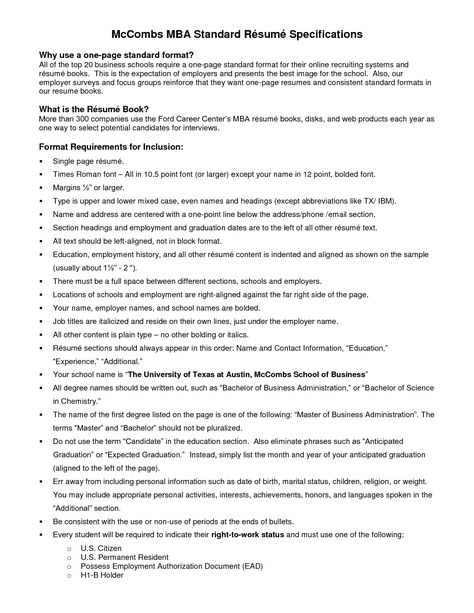resume block format yours sincerely mark dixon cover letter - standard format resume