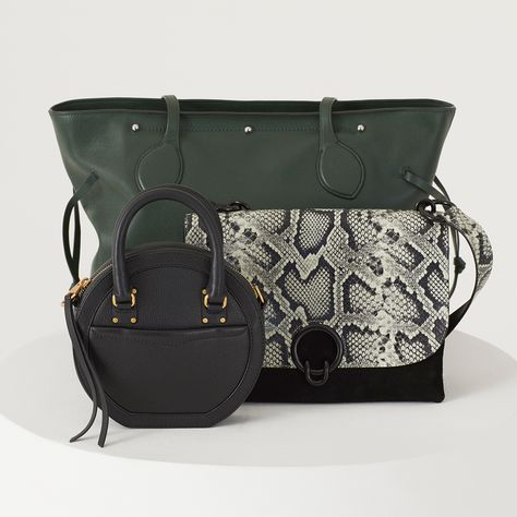 e40fa9f792e31 Rebecca Minkoff Bree Circle Bag in Black, Isabel Shoulder Bag, and Stella  Work Tote   circle bag, circle purse, circle purse cross body, circle purse  ...