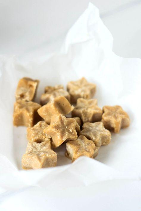 Vegan Vanilla Maple Fudge