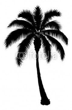 43 Ideas Palm Tree Tattoo Stencil Palm Tree Vector Tree