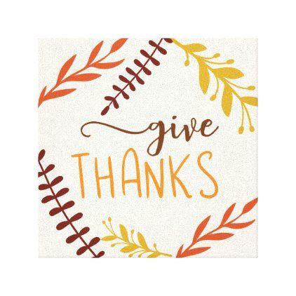 Give Thanks Fall Wall Decor