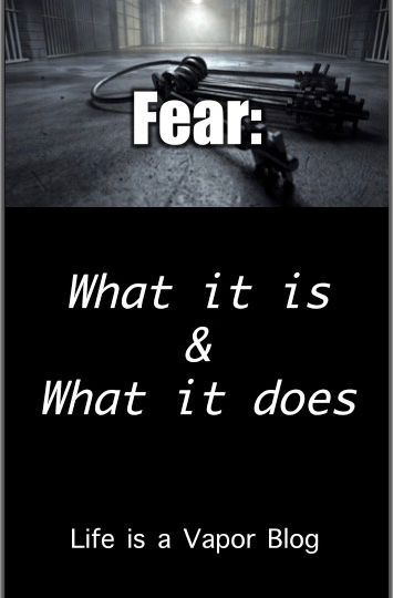 Fear What It Is And What It Does Part 1 With Images Fear