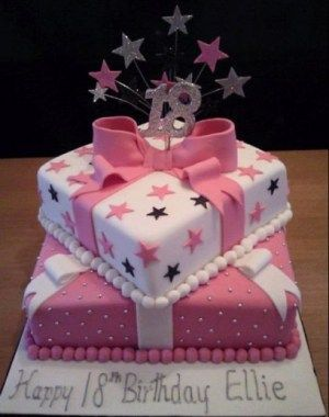Image Result For Birthday Cake Design For 18year Old Triplets