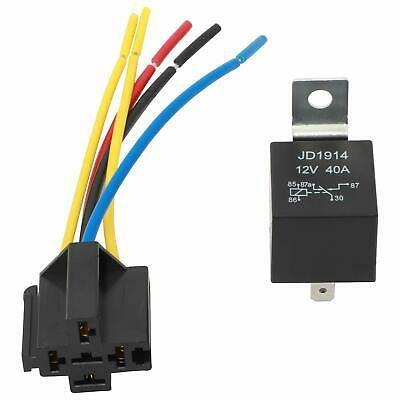 Ad Ebay 12 Pack 5 Pin Relays 5 Wires Relay Socket 12v 40a Spdt Automotive Car Relay Set Relay Ebay Automotive