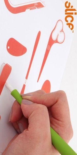 Slice 00116 Precision Cutter Micro Ceramic Blade Finger Friendly Never Rusts ...