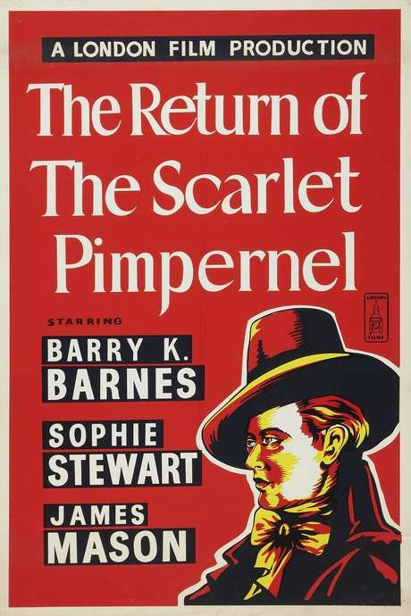 Return Of The Scarlet Pimpernel 1937 The Scarlet Pimpernel Scarlet London Films