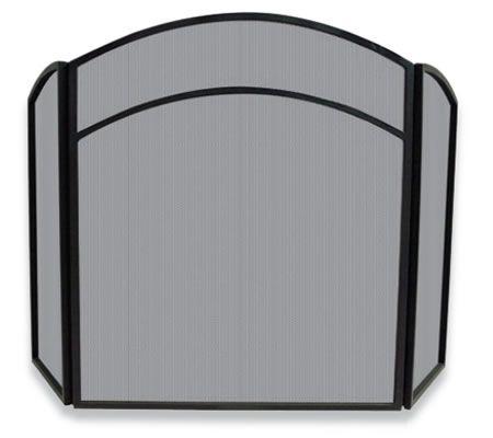 Home Screens Screen Doors Uniflame 3 Fold Black Wrought