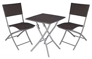 Gartenmobel Set 2 Stuhle 1 Tisch In 2021 Stuhle Gartenmobel Set Holz Rustikal Weiss