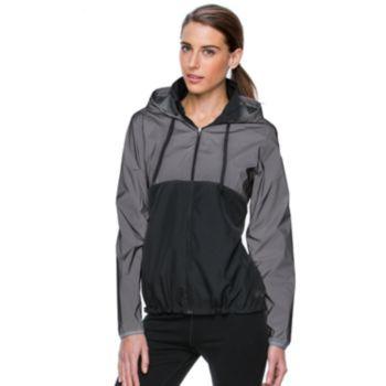 9fab2fb38e93 Women s+FILA+SPORT++Reflective+Hooded+Windbreaker+Jacket