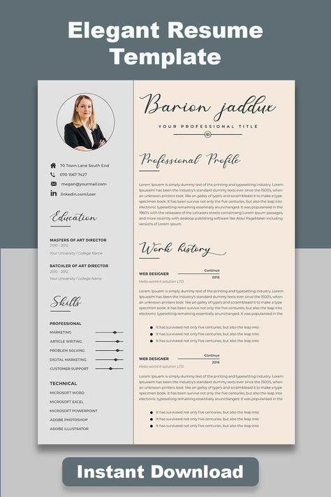 resume template free editable, resume template free editable layout, resume template professional