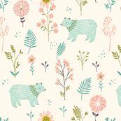 Garden Bears Pattern by bethanjanine.