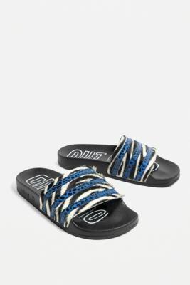 adidas Originals Adilette Animal Print Pool Sliders   Animal