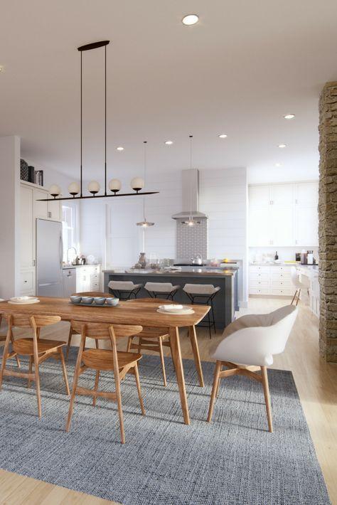 Our most popular Modern Farmhouse plan! Farmhouse style floor plans for sale. The Senepol!