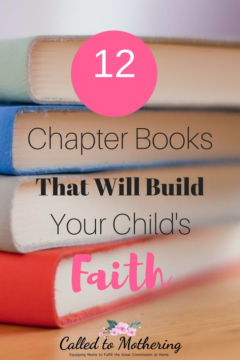 12 Chapter Books That Will Build Your Child's Faith - 12 chapter books that will give your kids the joy of reading and help them build their Christian fa - Christian Children's Books, Christian Kids, Christian Faith, Christian Parenting Books, Christian Living, Dump A Day, Mini Books, Good Books, Books To Read