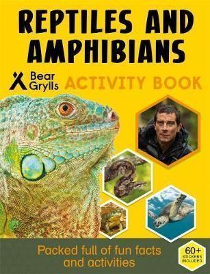 Bear Grylls Sticker Activity Reptiles Amphibians Paperback Softback Bea Madison Barlow Bear Grylls Sticker Activity Reptiles Amphibians Pap En 2020