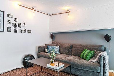Un salon sur la mezzanine | Décoration maison, Salon et ...