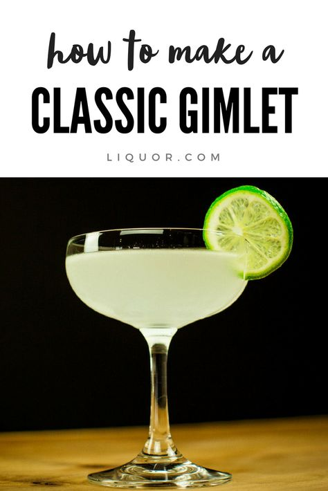 [KD add: Ojai type, honeydew melon purée plus mint, Wilder Gin] First created as a way to prevent scurvy in sailors, the Gimlet has been adapted by many as a drink of choice. Need an excuse to drink? Just call this classic cocktail medicine. Cocktails To Try, Gin Cocktail Recipes, Alcohol Drink Recipes, Classic Cocktails, Cocktail Drinks, Alcoholic Drinks, Cocktail Night, Gimlet Cocktail, Cocktails