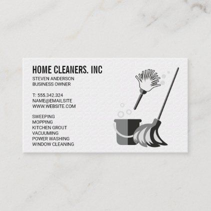 Tiling Background Cleaning Supplies Business Card Zazzle Com Cleaning Business Cards Cleaning Cleaning Supplies