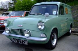 1961 1967 Ford Anglia 250 Van Classic British Ford Cars New
