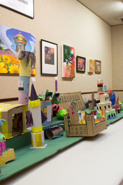 How To Build An Epic Cardboard City With Kids And Our 15