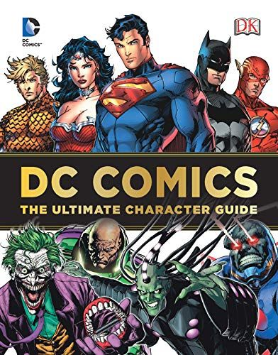 DOWNLOAD PDF] DC Comics Ultimate Character Guide Free Epub